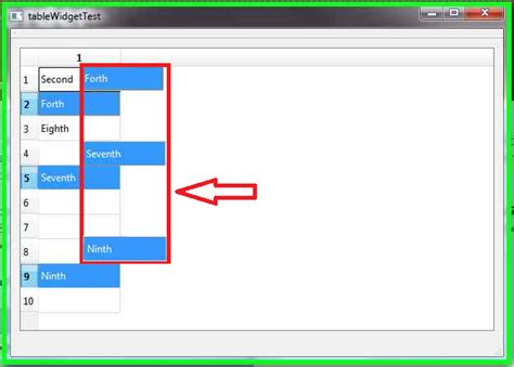 qtableview tutorial qtableview how to change dragging multiple items display