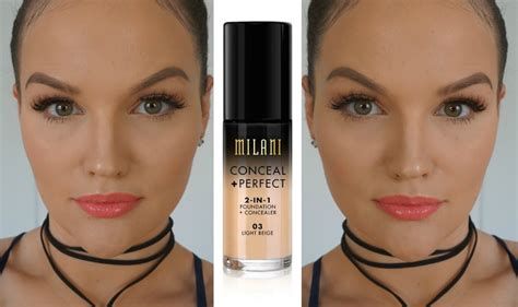 Wowwow Cover Max Foundation 04 milani conceal 2 in 1 foundation concealer