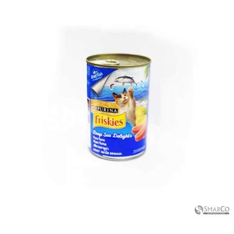 Makanan Kucing Friskies Seafood Selection 400gr detil produk friskies adl tuna kaleng 400 gr 3033020020019 8851012686735 superstore the