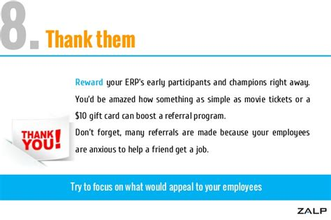 thank you letter employee referral 12 pointer check list for a successful employee referral