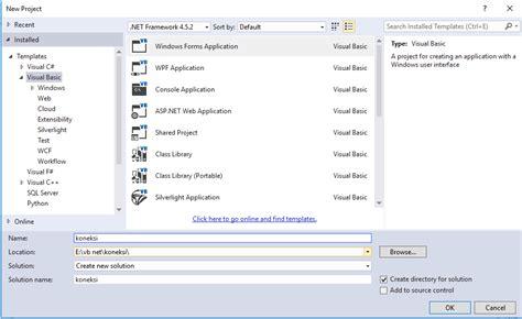 membuat koneksi database mysql dengan vb 6 0 cara koneksi database mysql dengan vb net visual studio