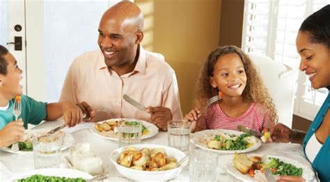 Family Dinner Table by Meals Together Strengthen Family Ties Response Seattle