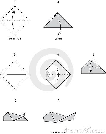How To Make Paper Fish Step By Step - origami fish royalty free stock images image 16655979