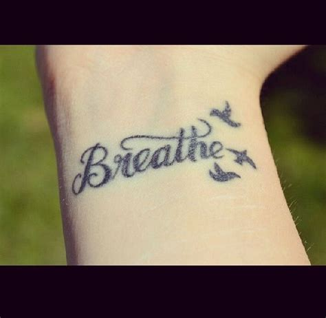 just breathe tattoo on finger 20 best images about tattoo thoughts on pinterest tumblr