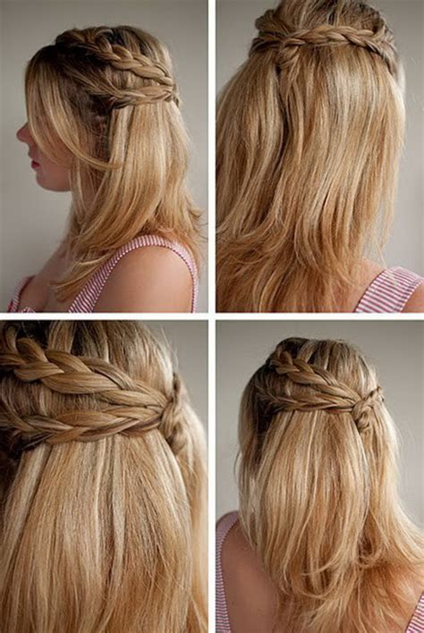 cool hairstyles for long hair easy cool easy hairstyles for long hair