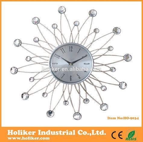 metal horloge murale d 233 corative avec boules acryliques
