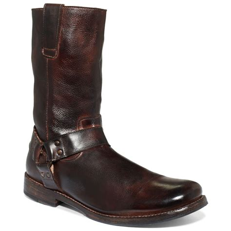 bedstu mens boots bed stu libra ii boots in brown for teak rustic lyst