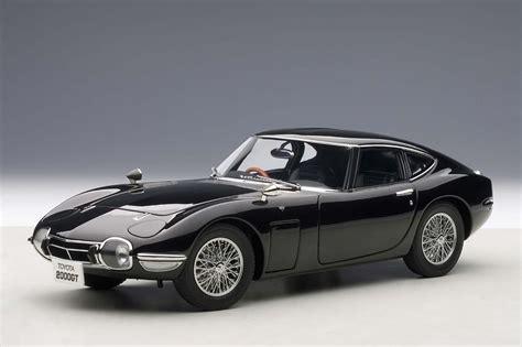 autoart toyota 2000gt autoart die cast model toyota 2000 gt upgraded coupe black