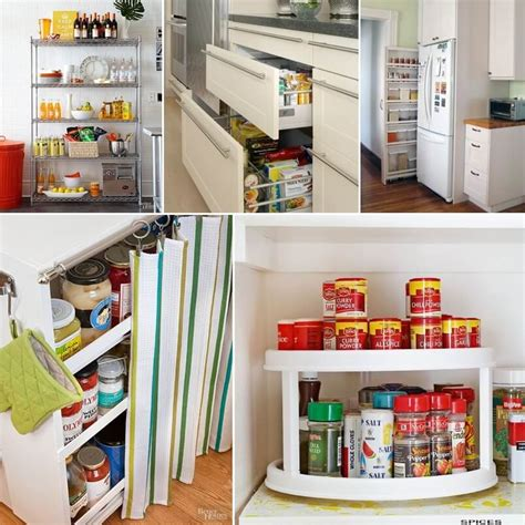 Small Pantry Solutions by Clever Solutions For A Pantry Less Kitchen