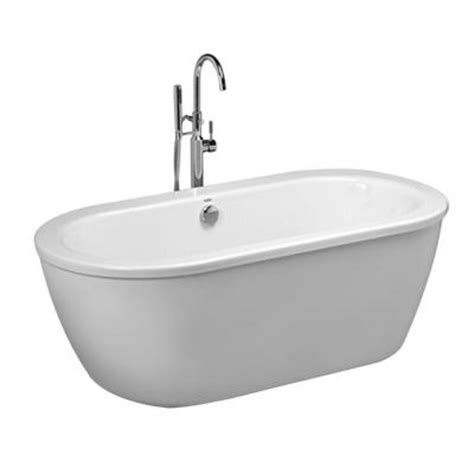 5 foot freestanding bathtub american standard cadet 5 5 ft acrylic center drain free