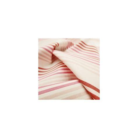 Tissu Poudré 2134 by Tissu En Coton 224 Lignes Roses Sur Fond Blanc