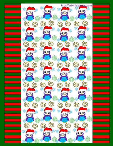 printable wrappers free printable christmas candy wrappers