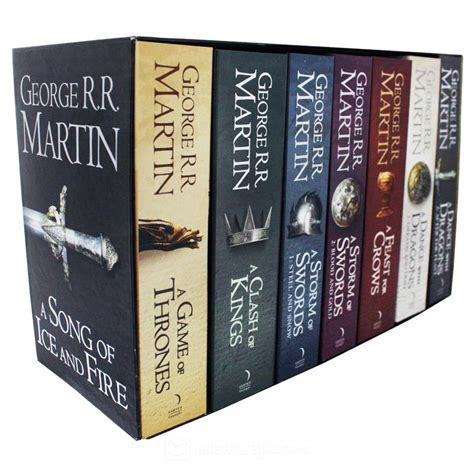 game of thrones hardcover collection set george r r game of thrones boxed set george r r martin book in stock buy now at mighty ape australia