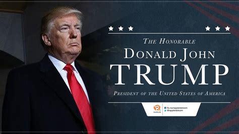 donald trump berita indonesia pidato pelantikan trump kepentingan warga amerika akan