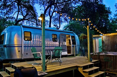 airbnb airstream this retro airbnb airstream rental in wimberley is full of