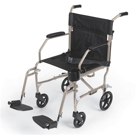 Transport Chair Reviews by Lightweight Freedom 2 Transport Chair 300 Lbs Cap In