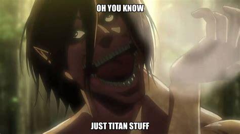 Titan Meme - attack on titan eren meme www pixshark com images
