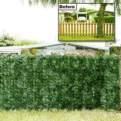 living privacy fence for the home pinterest
