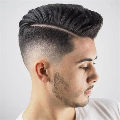 modern textured hairstyles 35 pompadour fade haircuts modern styling tips ideas