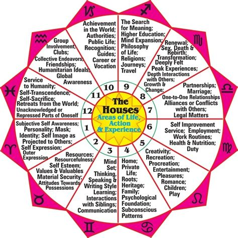 birth chart houses astrology tarot london zoe hind rising sign houses