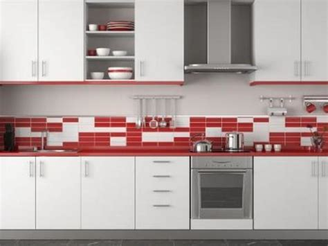 red tile backsplash kitchen white and red tile backsplash kitchen smith design