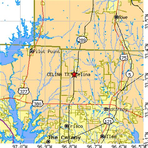 celina texas map celina texas tx population data races housing economy