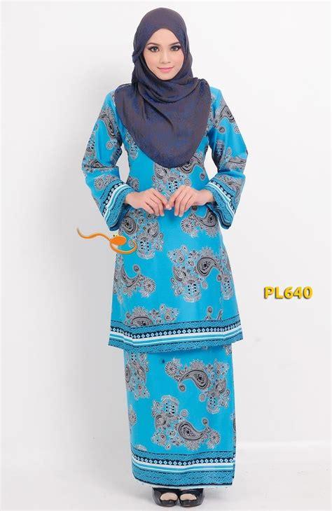 panduan menjahit baju kurung tradisional baju kurung pahang moden pesak gantung blue baju