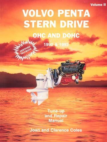volvo penta manuals service shop  repair manual    ohc  dohc stern drives