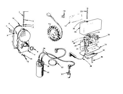 onan engine parts diagram onan engine cylinder block parts model b48g ga018