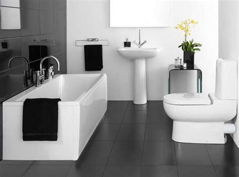 Charcoal bathroom floor tile