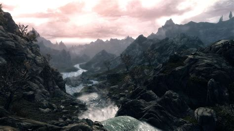 Skyrim Landscape | skyrim scenery wallpapers wallpaper cave