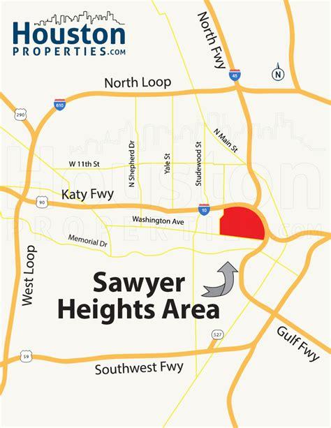 houston heights map sawyer heights houston neighborhood guide maps homes