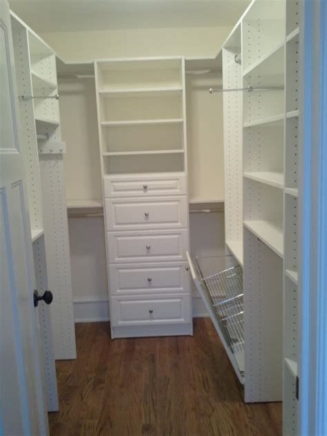 Small Closet Renovation by Amazing Space Custom Closets Traditional Closet New