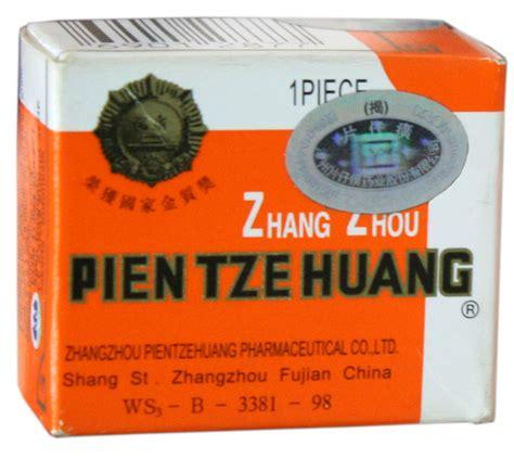 Obat Luka Pasca Operasi Pien Tze Huang Original pien tze huang kapsul asli manfaat dosis efek sing