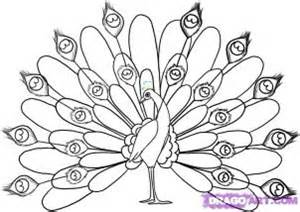 National Bird Of India Outline by How To Draw Peacocks Drawing Tutorials Drawing How To Draw Peacock Drawing Lessons Step By