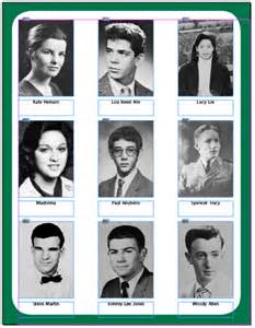 Yearbook Template Indesign by Creating A Contact Sheet Or Yearbook Page In Indesign