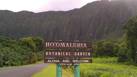 hoomaluhia botanical garden hoomaluhia botanical garden oahu only in hawaii
