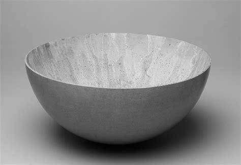 Large concrete bowl designed by Stephan Schulz