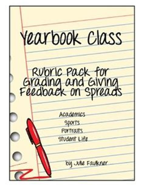 yearbook layout grading rubric yearbook ideas on pinterest yearbooks yearbook staff