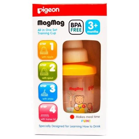 Pigeon Botol Pp With Silicone 120ml seroyamart groceries and supermarket