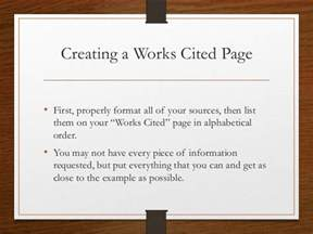Works Cited Research Papers by Research Papers Works Cited Formatting Sources