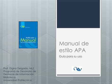 manual de estilo de manual de estilo apa