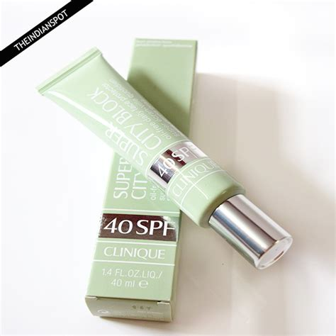 Clinique City Block clinique city block spf 40 review the indian spot