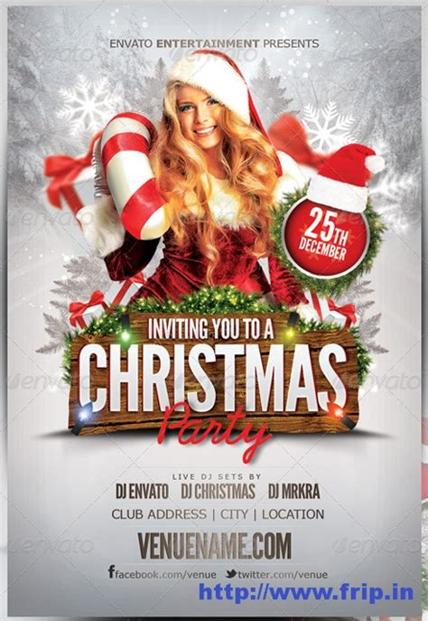 templates for christmas flyer best 35 christmas new year flyer templates for 2014