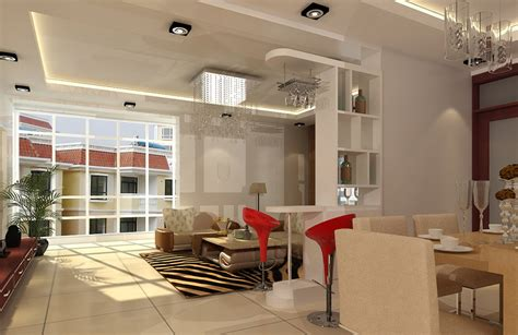 dining living room ceiling lighting 3d house