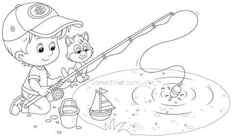 Water Pond Coloring Pages Coloring Pages Pond Coloring Page