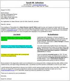 T Format Cover Letter Sle by Formats Of A Cover Letter