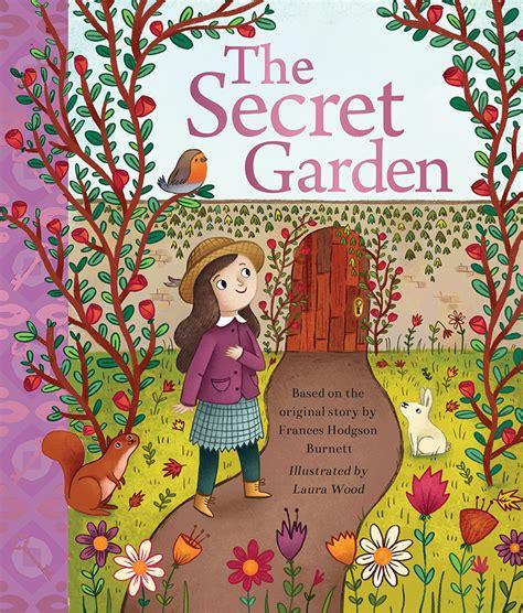 secret garden laura wood illustration