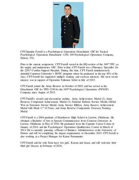 army biography format gallery of military biography format writing biography