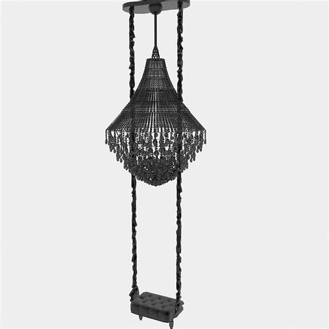 swing chandelier 3d model vissionnaire classic art